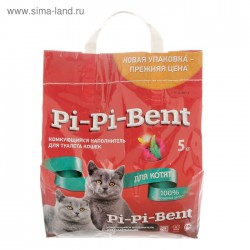 Наполнитель PI-PI-Bent 5 кг.дкотят