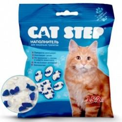 Наполнитель Cat Step 15л (7,24кг) силикагель