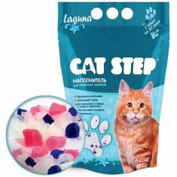 Наполнитель Cat Step Лагуна силикагель 3,8л